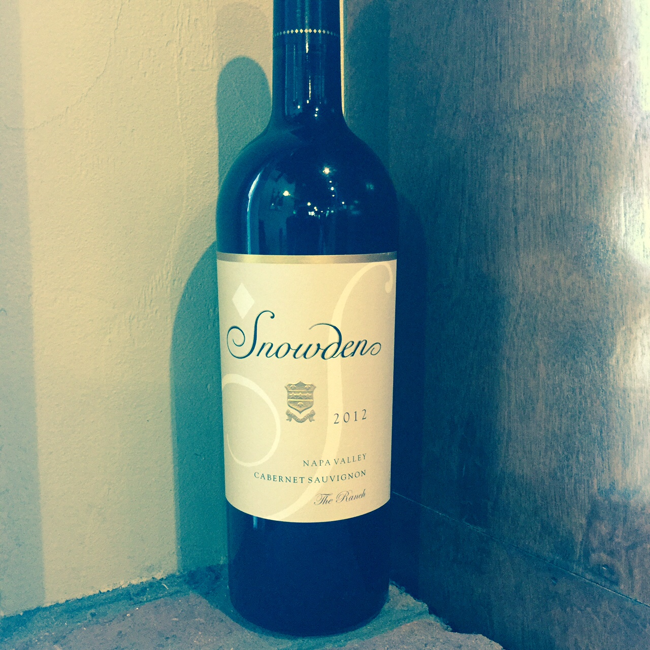 2012 Snowden Napa Valley Cabernet The Ranch