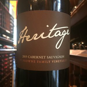 Heritage Cabernet Photo