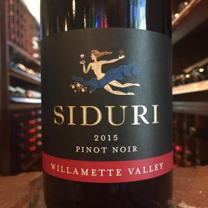 Siduri Pinot Noir Bottle
