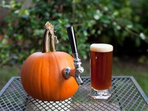 Pumpkin-Beer-tapped